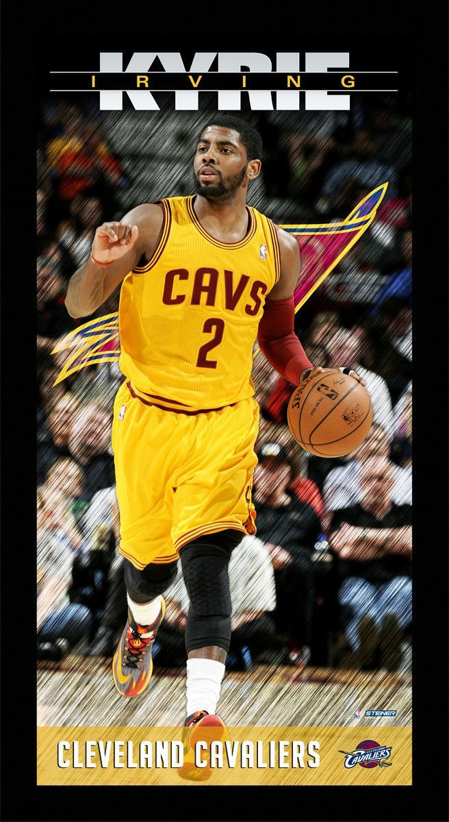Kyrie Irving Cleveland Cavaliers Player Profile Wall Art 9.5x19 Framed Photo