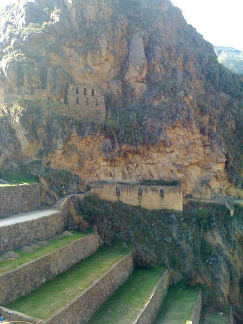 Ollantaytambo, Peru... my favourite inca ruin (and the cleverest cooler I have seen)