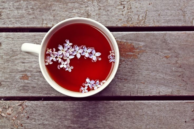 tea with lilac
