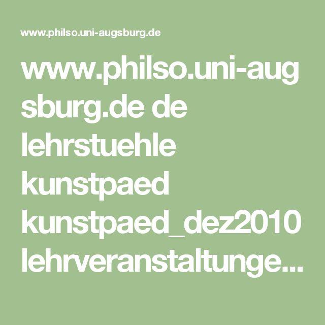 www.philso.uni-augsburg.de de lehrstuehle kunstpaed kunstpaed_dez2010 lehrveranstaltungen Downloads_Lehrveranstaltungen WS2006_2007_Miller_Monika ws0607_Miller3_Expos___Raum_.pdf
