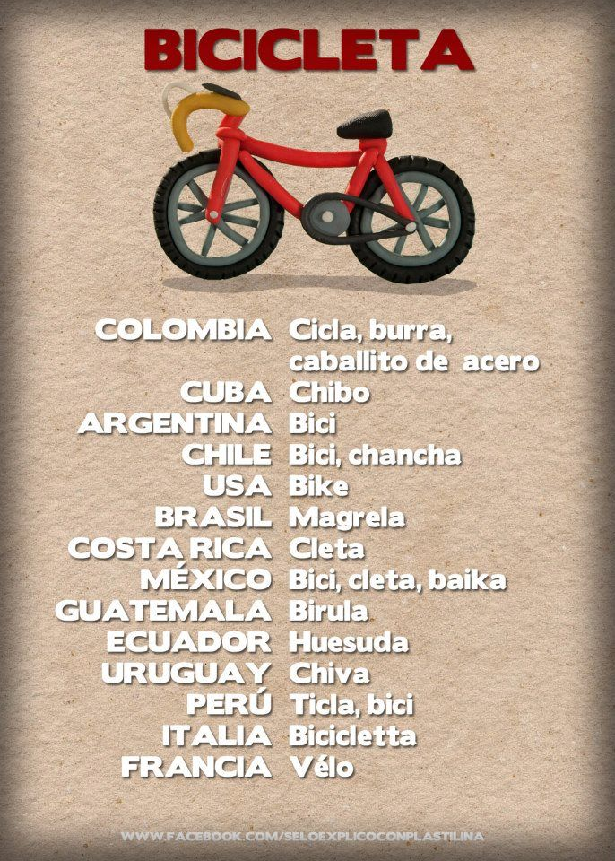 "Use with reading ""Miguel y la bicicleta"" on Day 4"