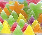 Coloridas gomitas dulces