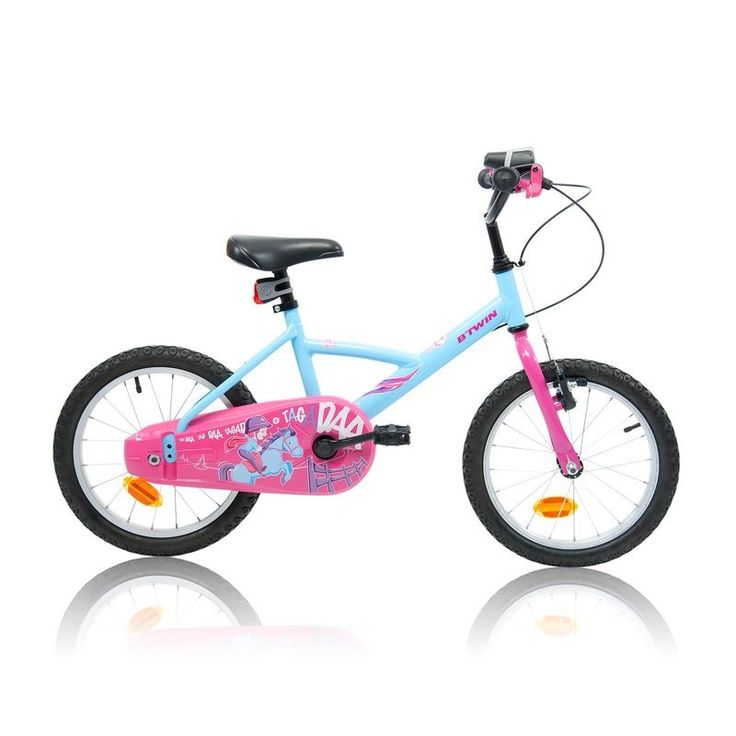VELO Velos Vélos, cyclisme - Vélo enfant 16 pouces Wendy Pony Girl B'TWIN - Vélos
