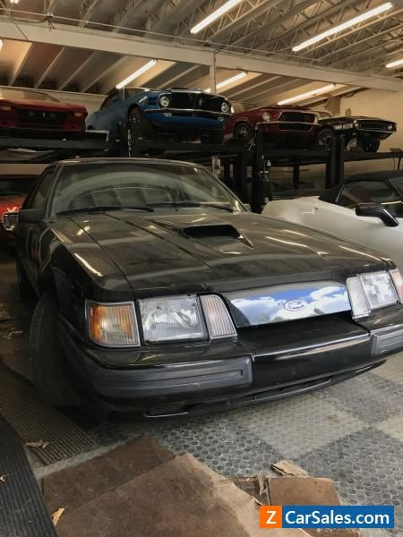 1986 Ford Mustang 3 DOOR LIFTBACK #ford #mustang #forsale #unitedstates