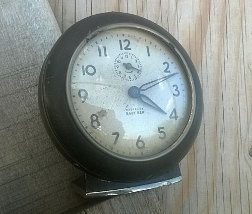Buy Rare & Original, WESTCLOX BABY BEN Alarm Clock. Made in Canada. NOT WORKING ! for R51.00