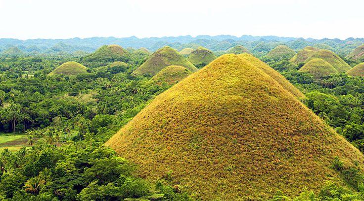 Шоколадные холмы на Филиппинах (7 фото)