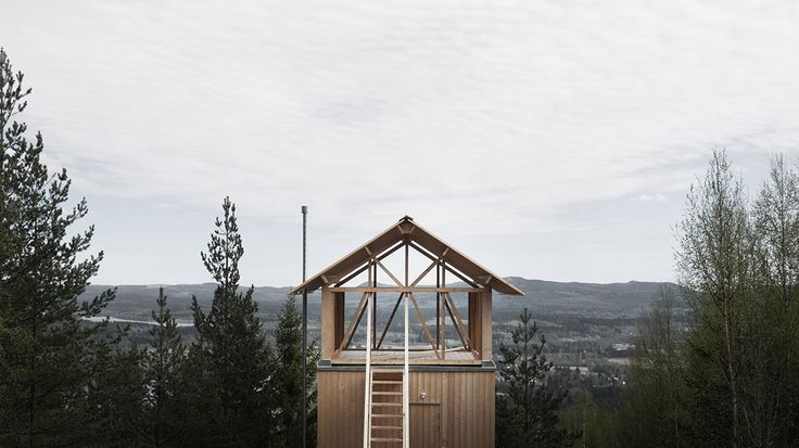 Stilted Swedish Cabin Asks How Much You Really Need - This one room plus loft is an exercised in Scandinavian restraint. https://www.adventure-journal.com/2017/06/stilted-swedish-cabin-asks-much-really-need/