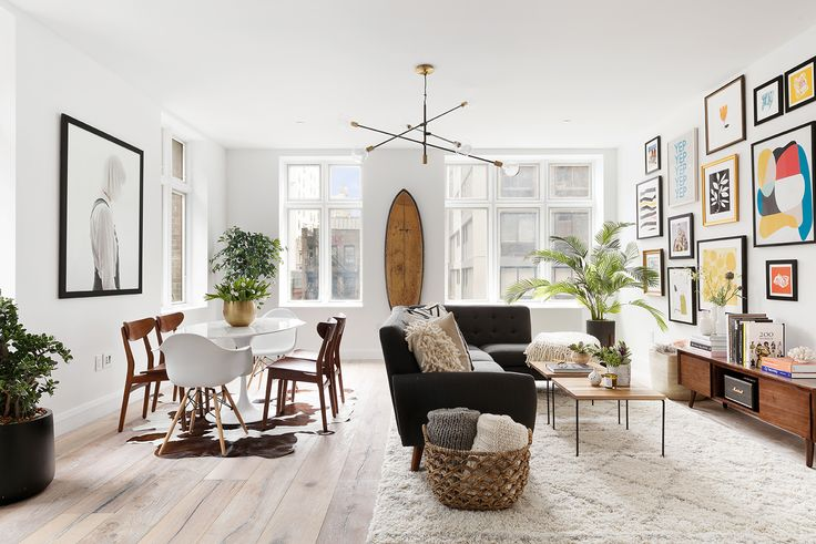 Photo 1 of 10 in This American Life's Ira Glass Lists His Light-Filled Chelsea Apartment For $1.75M - Dwell