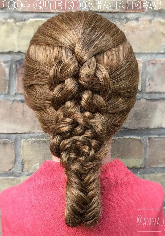 Lovely Cute Braided Hair Ideas For Kids 2020 Best Braided Hair Styles