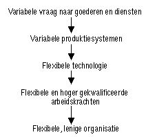Het Scientific Management van Frederick W. Taylor.