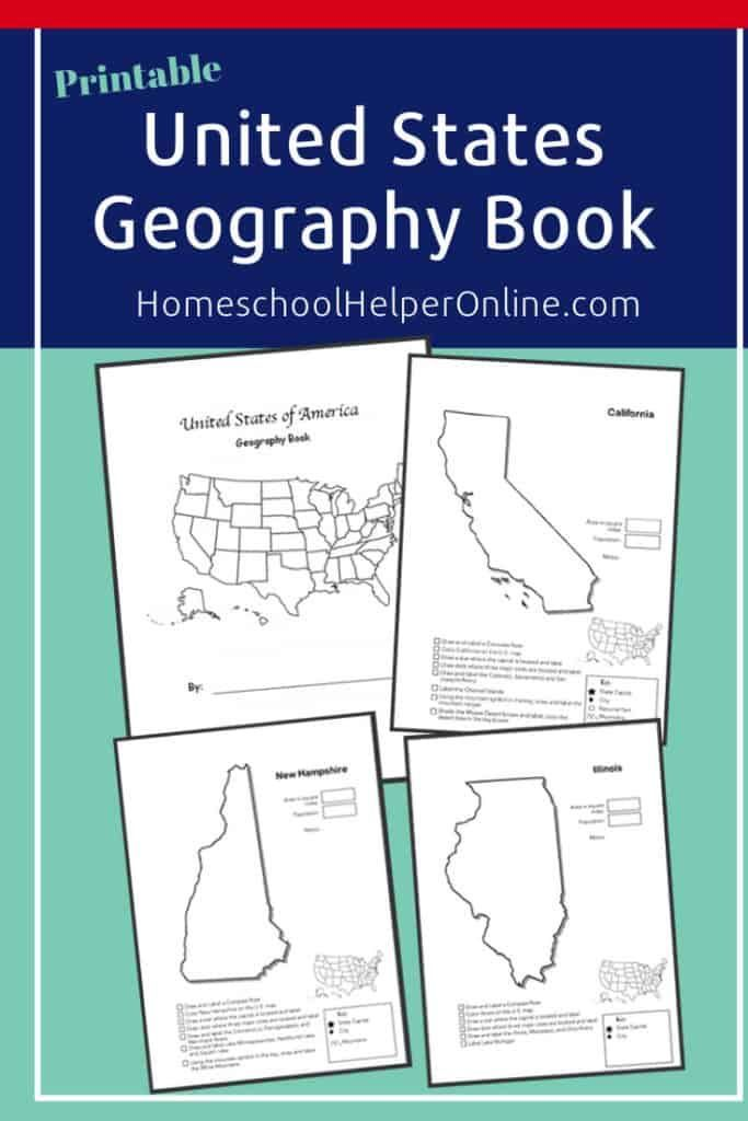 State Geography Worksheet Bundle (With images) | Geography ...