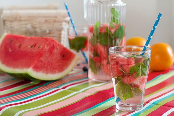 Heerlijk verfrissend: Infused water #vijfblogger