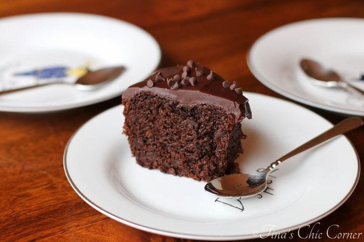Let's be real. Can there ever be too much chocolate cake? I think not. OMG, I just realized that this looks like a ginormous doughnut! Sweet. But really, it's a bundt cake. I guess I've been i...