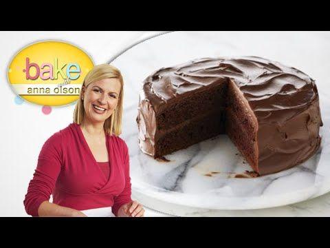 Torta del Diablo de Chocolate - Reposteria con Anna Olson (Español) - YouTube