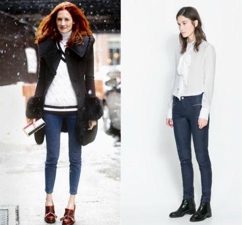 С чем носить женские ботинки челси? Модная фото-подборка | Феломена