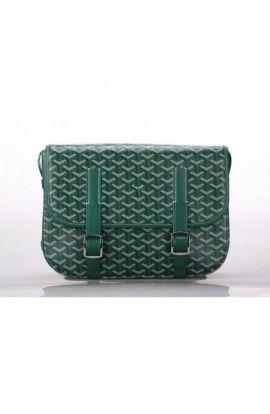 Goyard Messenger Bag MM Green