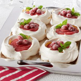 Cranberry Pavlova – A New Thanksgiving Dessert