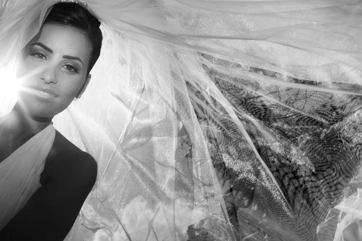 Gorgeous Italian bride in Naples