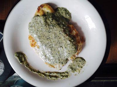 Pollo a la plancha con Salsa Huacatay