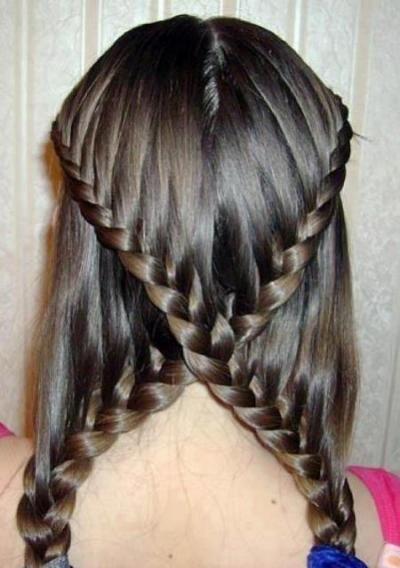 long hair style, fashion? beautiful?