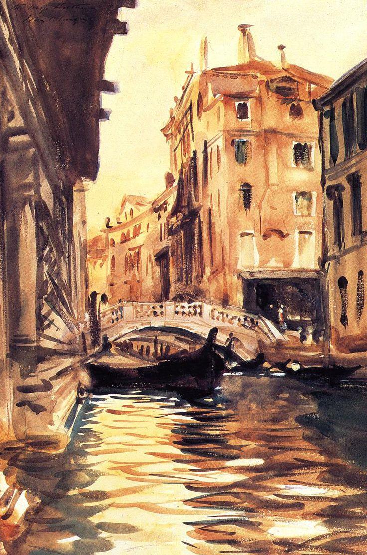 Ponte della Canonica - John Singer Sargent