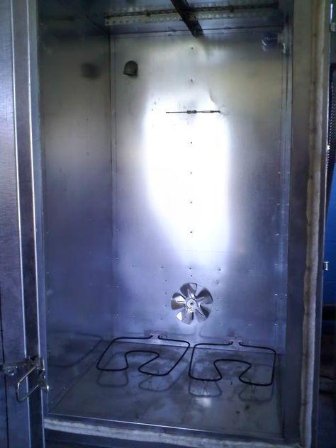 Powder Coat Oven Plan - The Garage Journal Board Oemoven.com #IndustrialOven #Oven #Baking