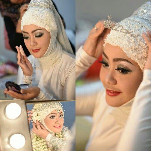 Off white hijab