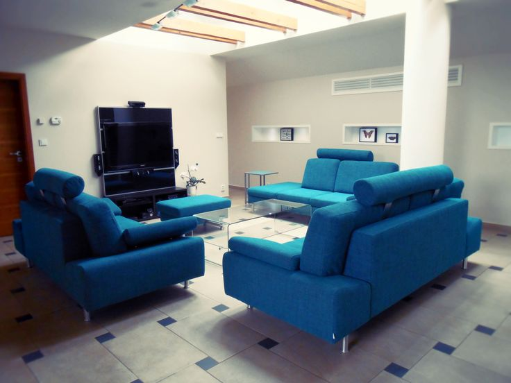 Thanks to Verona sofa is home cinema complete!