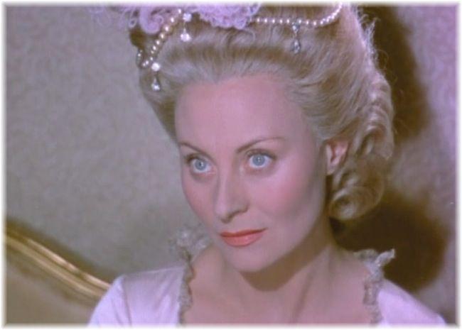 Michèle Morgan : reine Marie-Antoinette