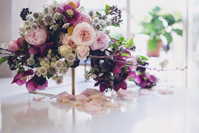 composition florale Les fleurs de Pauline