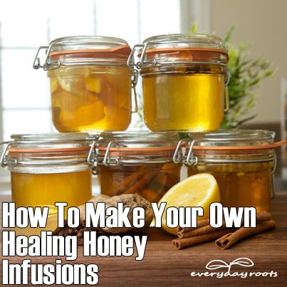 Herbs Info: How To Make Your Own Healing Honey Infusions