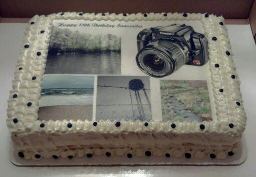 Happy Birthday Photographer Cake Cake Fairy Creations Pinterest Happy Birthday
