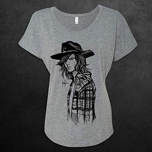 1597fd29f Carl Grimes Portrait Sketch The Walking Dead Women Graphic Tee T-shirt Shirt,#Sketch,  #Walking, #Portrait, #Carl
