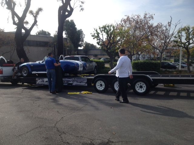 Loading up the Hillbank favorites to head to Barrett Jackson.