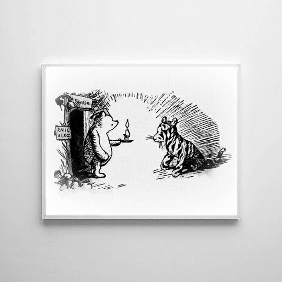 Winnie The Pooh Traditional Artwork 3 - Buy 2 Get 1 FREE by ShamanAlternative on Etsy