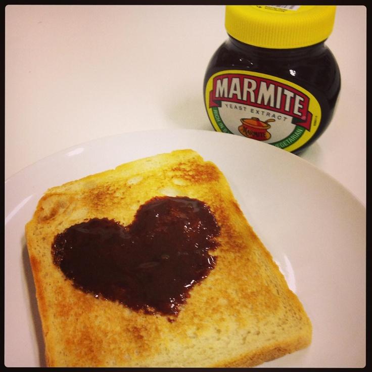 Marmite on toast = love!