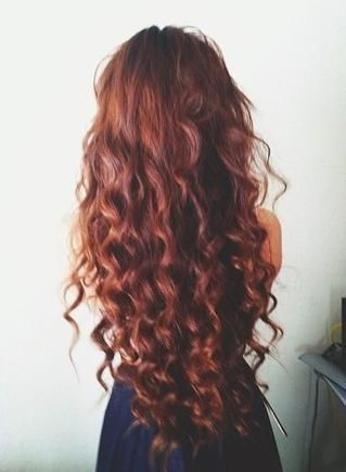 dark auburn curls. Excuse me while I schedule an appointment for dying my hair. Because this is the color I have been searching for.