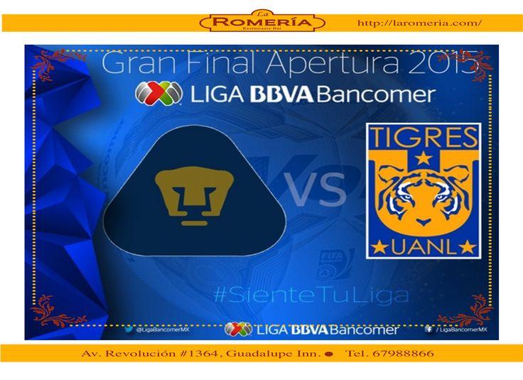 Gran Final Futbol Mexicano Apertura 2015.