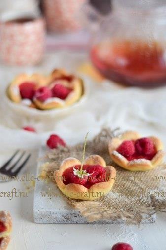 Печенье с малиной – вкусно и полезно | elle-craft — творчество со вкусом!
