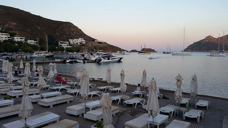 #Grikos sunset #patmosaktis