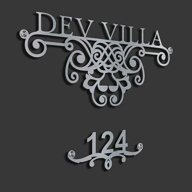 29 Amazing Unique Name Plate Ideas Akaar Blog In 2019