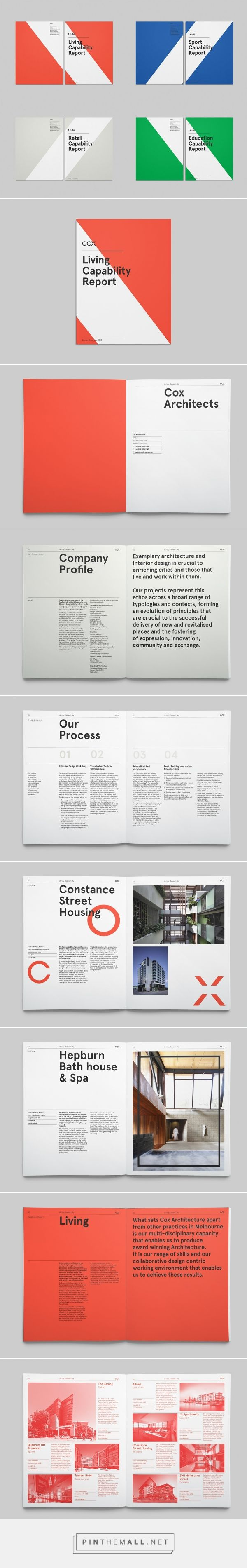 Use of white space, variety of text size - Cox Architecture (Simon Harris)