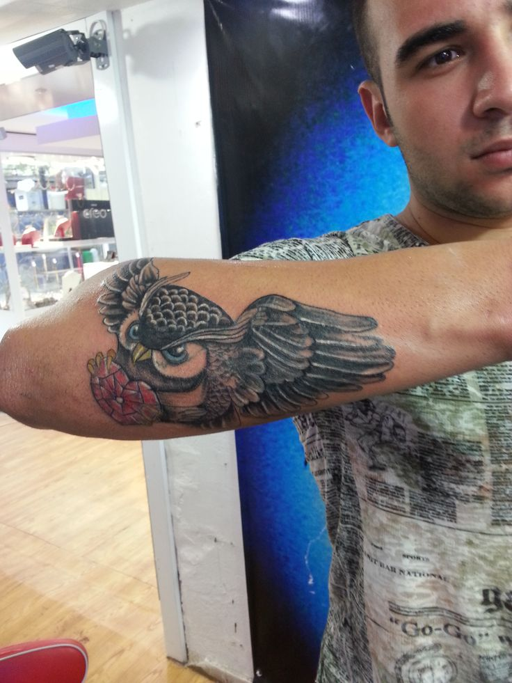 baykuş dövmeleri