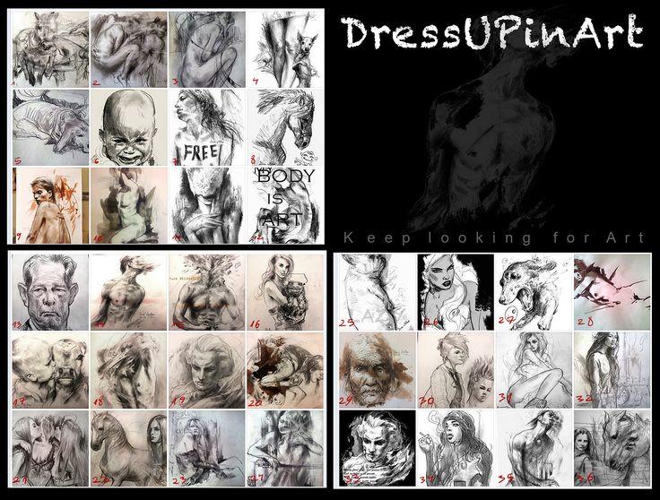 Choose your art! https://www.facebook.com/Dressupinart