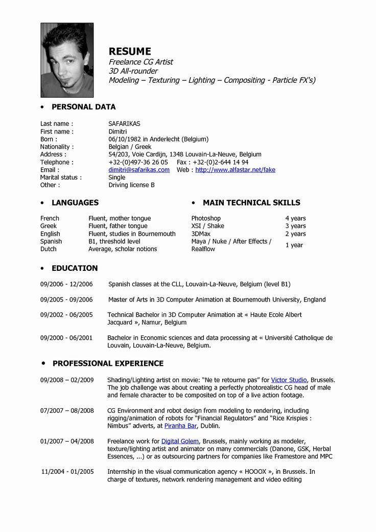 Cv template 3d artist teacher resume template artist