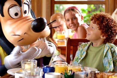 Family dining at Disney's Vero Beach Resort