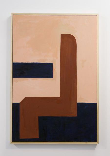 Abstract art, modern art painting, brown, black, Painting - Mattea Perrotta