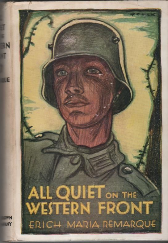 an analysis of the negative view on war effort in all quiet on the western front by erich maria rema All quiet on the western front (im westen nichts neues), by erich maria remarque, arguably remains the book most clearly identified with the anti-war novel as a genre remarque's book treats the role of those who promoted the war and led the youth to the slaughterhouse, the miseries of trench warfare and the similarities between the.