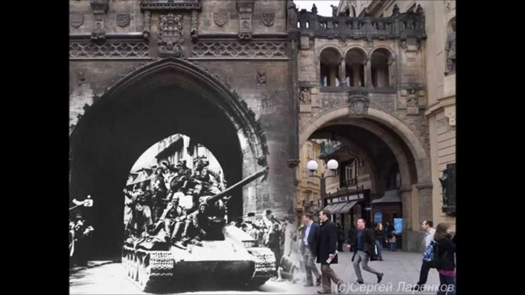 Cool Then and Now Superimposed WWII Pictures ◄◄◄