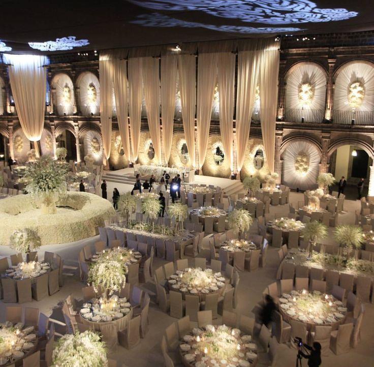 La Mas Hermosa Vista En Vizcaínas Mexico City Realizada Por GONZALEZ HELFON  Los Mejores Wedding Planers